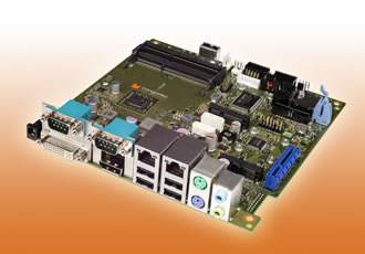 Mini-ITX boards feature powerful graphics & low TDP