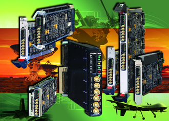 Transceiver 3U VPX board for comms and radar systems