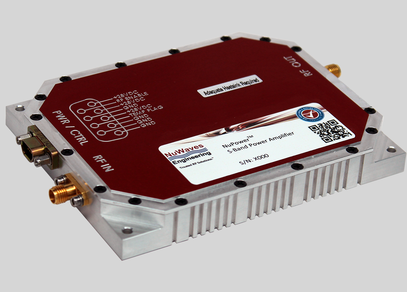 S-band RF power amplifier provides 30W on average