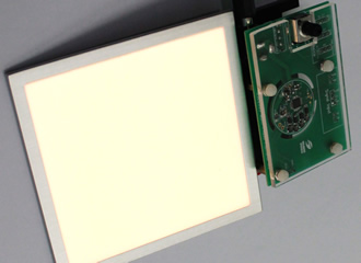 'World's first' single chip OLED lighting driver controller
