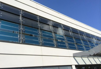 Organic PV integrated into Heliatek HQ