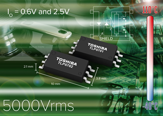 Photocouplers directly drive IGBTs & power MOSFETs