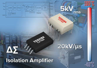 Photocouplers integrate ΔΣ ADC for high accuracy