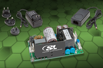 Power supplies meet strict EMI & EMC parameters