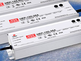 Power supplies target harsh environments