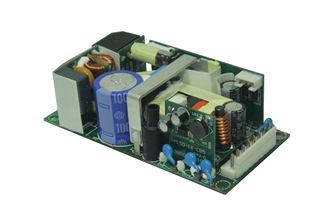 Power supply delivers up to 150W continuous output power