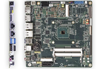 Powerful graphics capabilities define Thin Mini-ITX motherboards