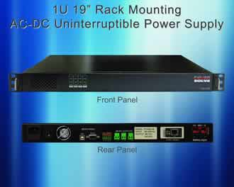AC-DC UPS series provides up to 300W DC output