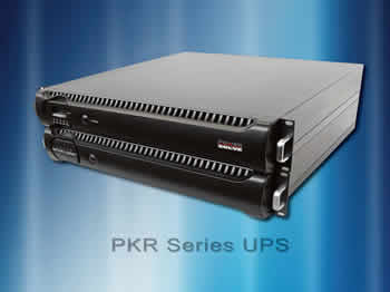 "UPS series provides ""firewall"" between mains and equipment"