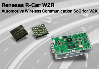 5.9GHz automotive wireless communication SoC for V2X