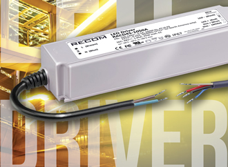 LED driver for constant current LED luminaires