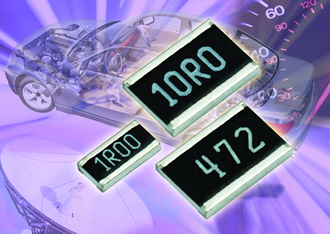 Resistors offer improved thermo cycling performance