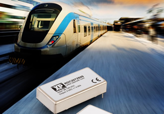 DC/DC converters are railway & rolling stock certified