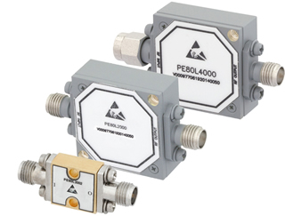 RF limiters operate over a 0.5-40GHz frequency range