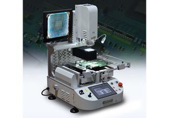 SMT/BGA rework system handles any SMD repair