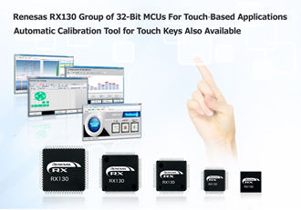 High-sensitivity touch key MCUs offer more development environment
