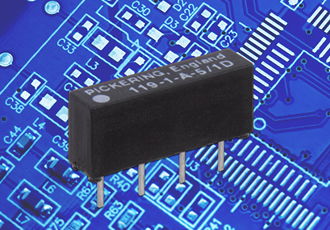 Reed relays offered in reduced-size SIL packages