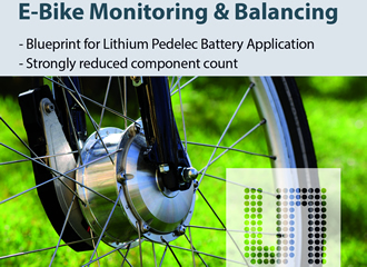Reference design for lithium e-bike batteries
