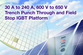 IGBT platform increases solar inverter efficiency
