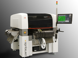 3-in-1 SMT production suite provides 240 feeder slots per square metre