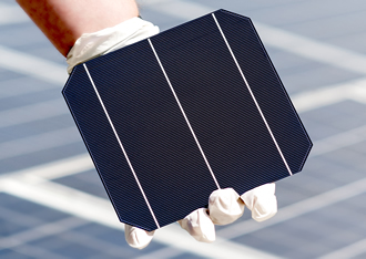 Solar cell features a 22.02% conversion efficiency