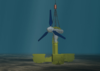 Specialised electronics fuel a tidal energy project