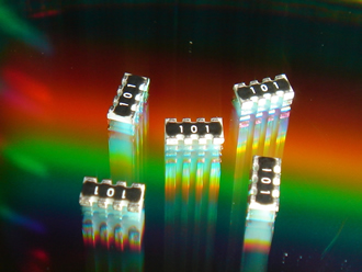 Anti-sulfur chip resistor arrays utilise thick film technology