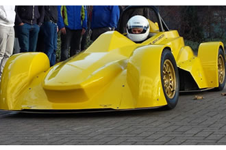 Students utilise Danish know-how for racing car design