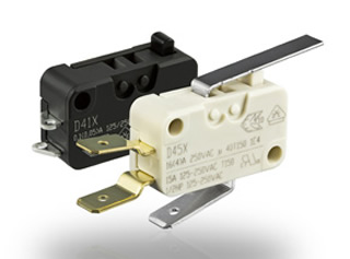 Switches offered with halogen-free flame retardants