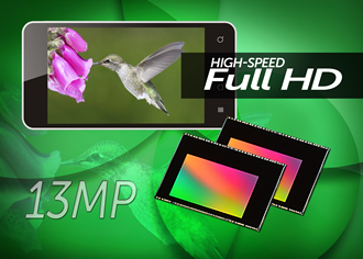 Image sensor enables high-speed HD video recording