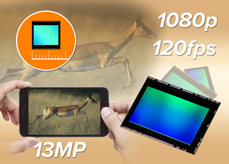 13MP image sensor is claimed to be world's smallest