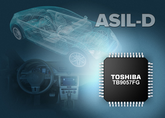Electric power steering IC meets ASIL-D standards