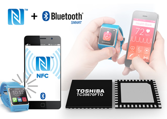 Bluetooth & NFC ICs target wearable healthcare