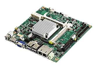 THIN Mini-ITX motherboard targets space limited applications