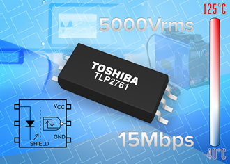 15Mb/s photocoupler features low power consumption