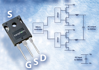 600V GaN transistor is 'industry's first' in TO-247 package