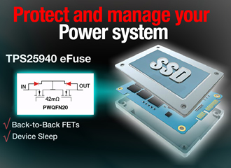 18V eFuse offers protection & extends battery life