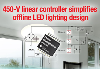 Linear controller simplifies LED lighting design