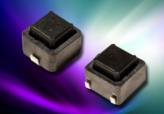 Tactile switch range features 200,000-use operating cycles