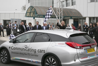'Communicating Cars' test drive reaches finish line