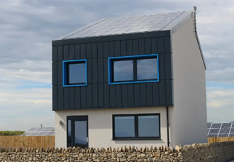 The UK's first purpose-built, low-cost energy smart house