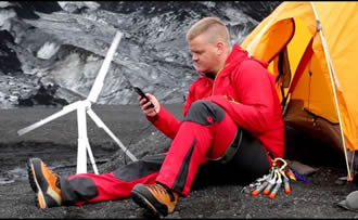The 'world's first' portable wind turbine