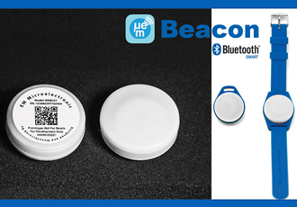 Tiny bluetooth beacons withstand weather & over-air attacks