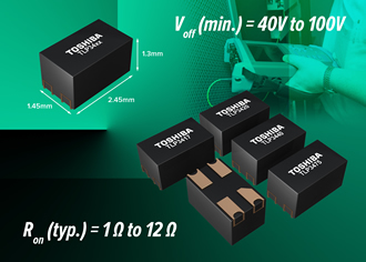 Ultra-small photorelays reduce mounting area by 50%