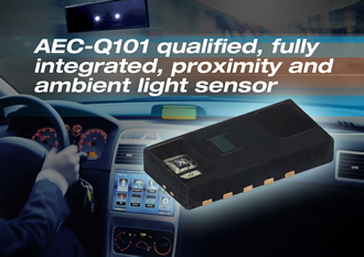 AEC-Q101 qualified proximity & ambient light sensor
