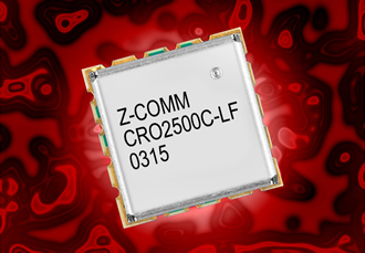 VCO covers a frequency range of 2400 to 2600MHz