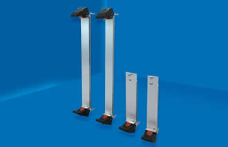 Ejector handles and panels are suited for 3U & 6U VPX boards