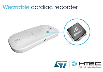 Wearable cardiac recorder offers mobile peace of mind