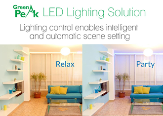 Wireless LED lighting solution supports multiple protocols