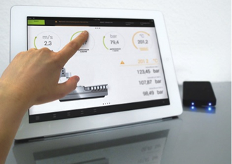 Wirelessly control machines with tablets and smartphones
